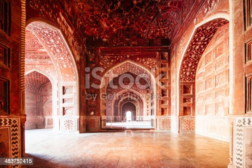 Taj Mahal Mosque, Agra. India