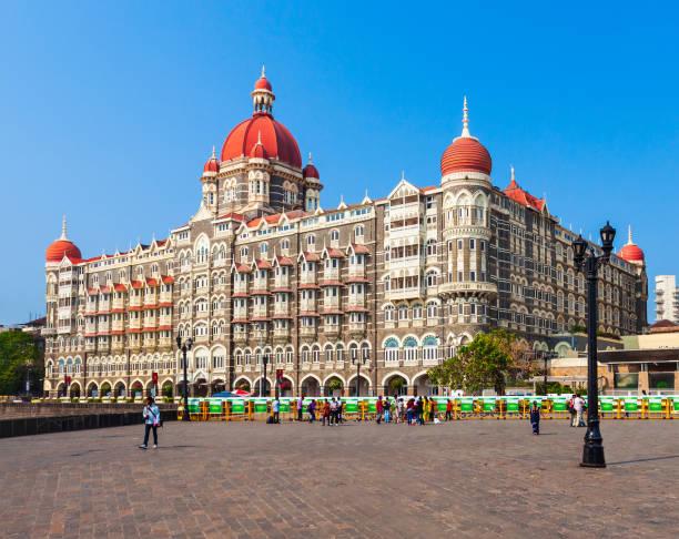 Taj Mahal Palace Hotel in Mumbai stock photo