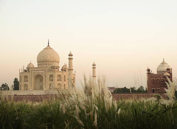 Taj Mahal - foto de acervo