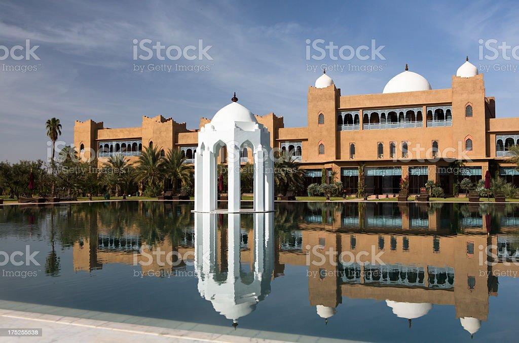 Taj Palace Marrakech stock photo