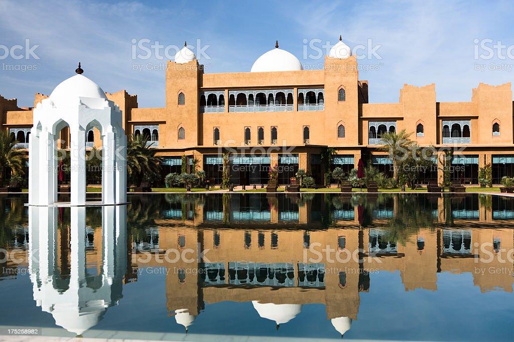 Taj Palast Marrakech stock photo