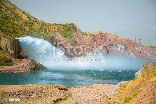 istock Tajikistan Hydro Plant 494150495
