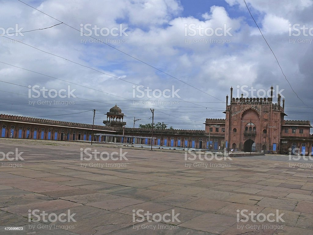 Taj-ul Masjid stock photo