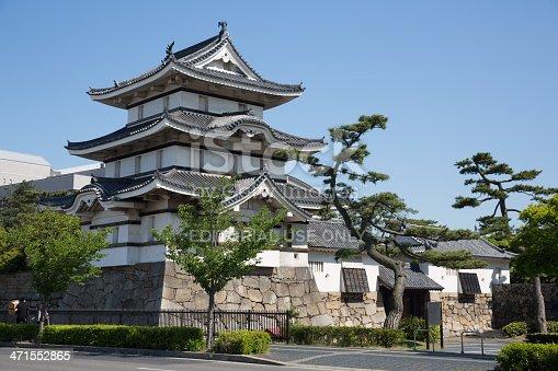 istock Takamatsu Castle in Japan 471552865