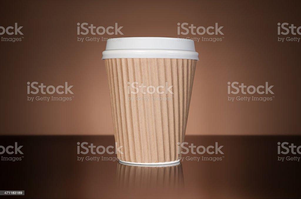 Takaway coffee royalty-free stock photo