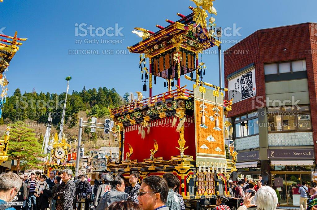Takayama Festival - Japan stock photo