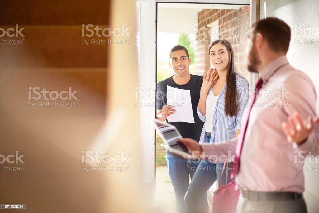 take a look at your new home stock photo