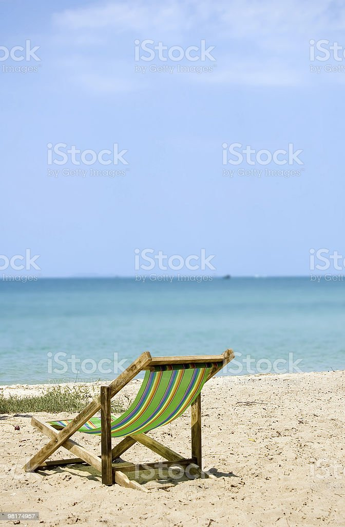 Take A nap on the beach - #33 royalty-free stock photo