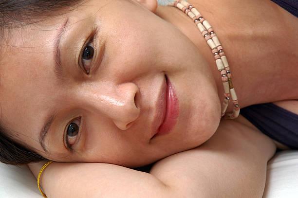 take a nap stock photo