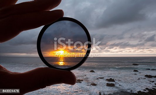 istock Take a photo with filter 843324476