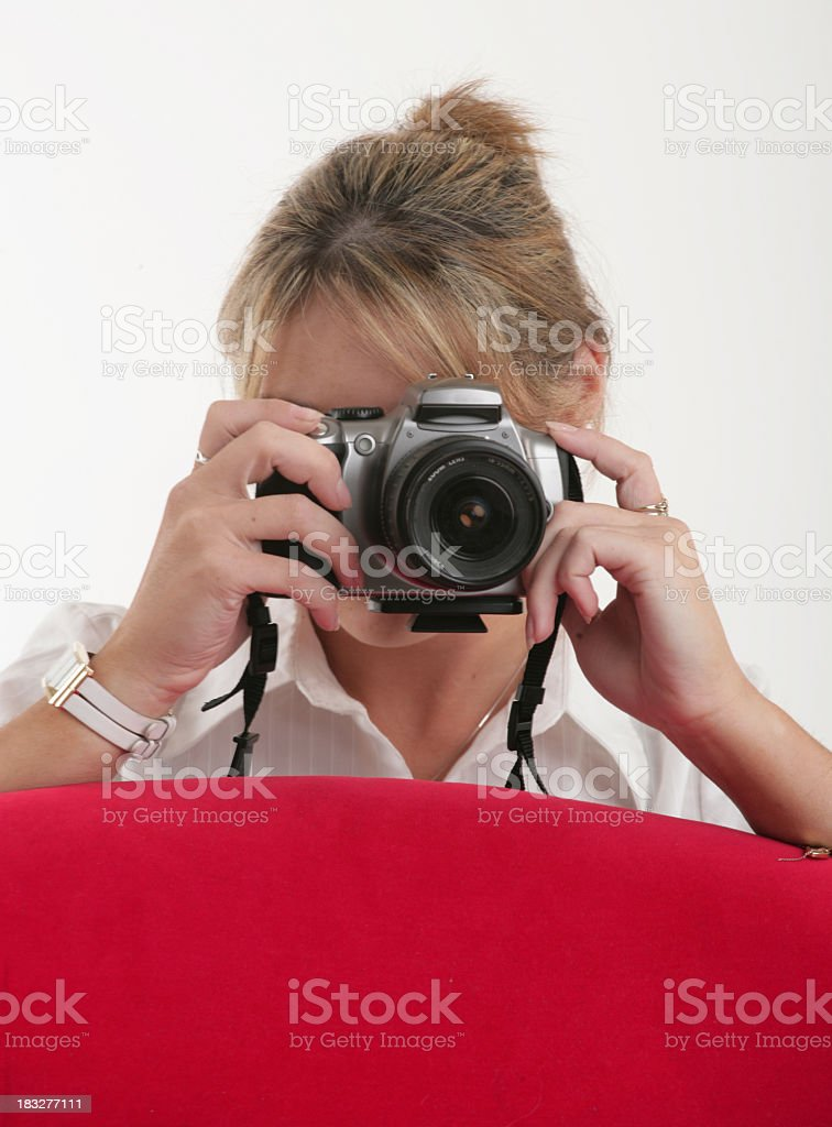 Take a picture royalty-free stock photo