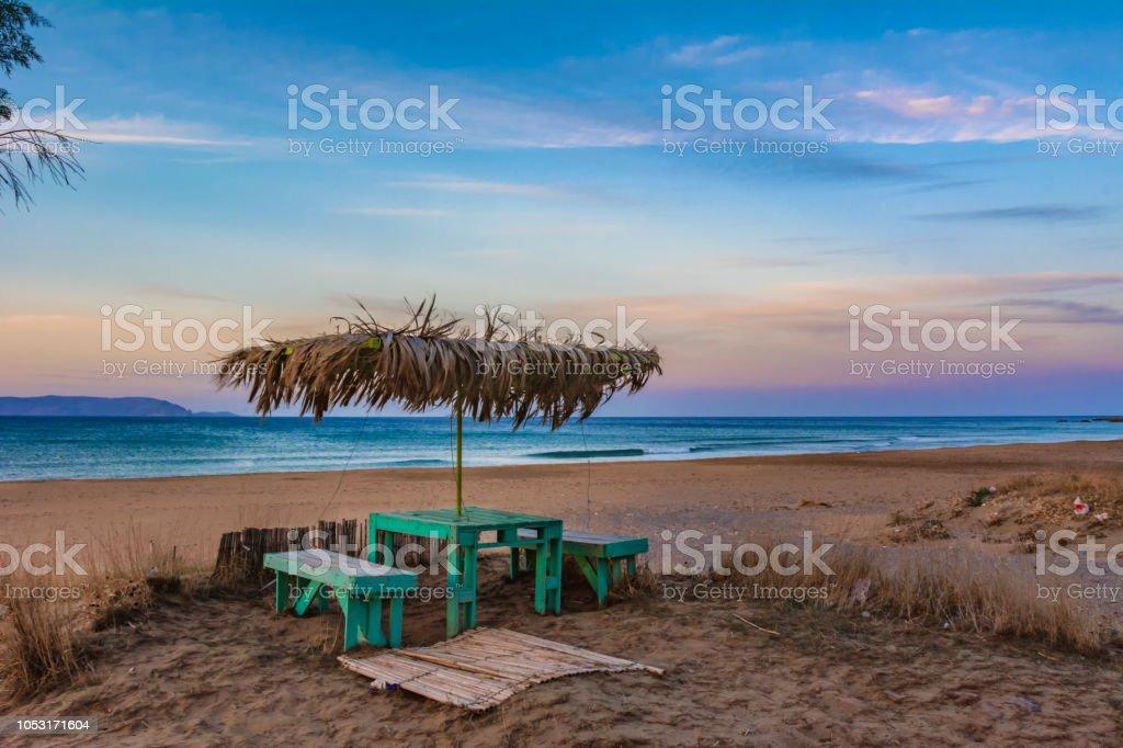 Take a sit stock photo