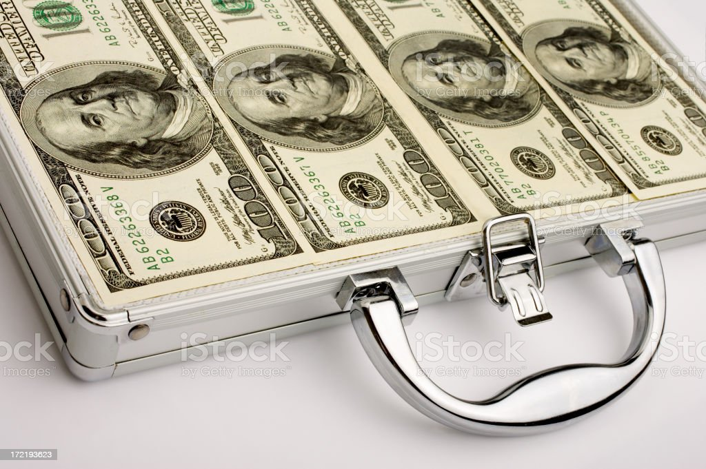 Take Away Money royalty-free stock photo