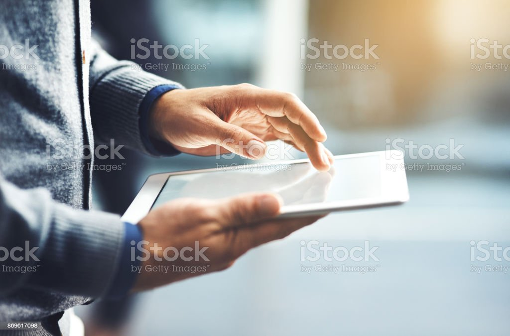 Take business to the next level through the world online stock photo