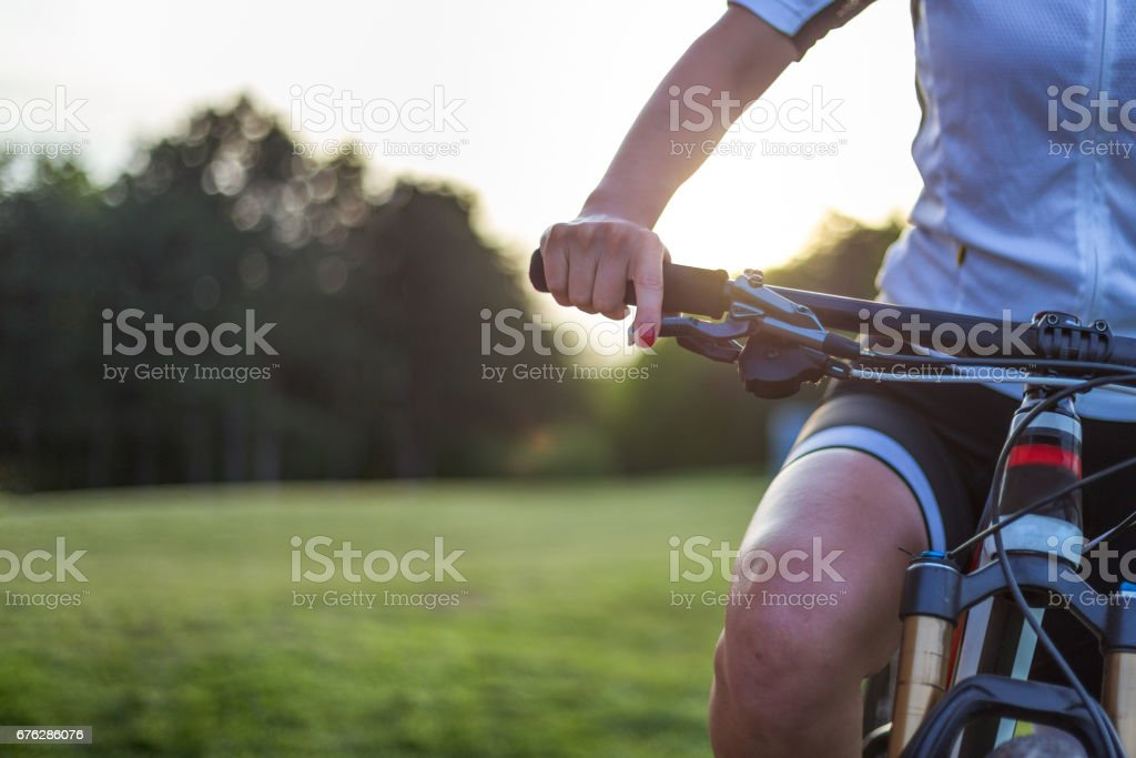 I take care about myself stock photo