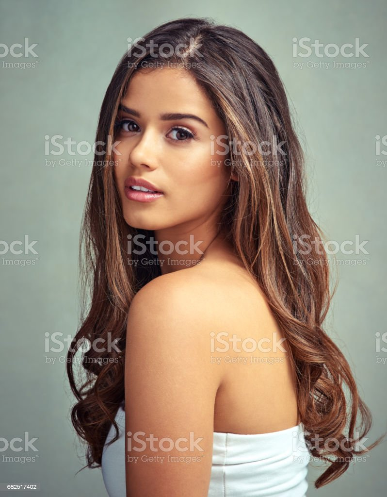 Take care of your hair royalty-free stock photo