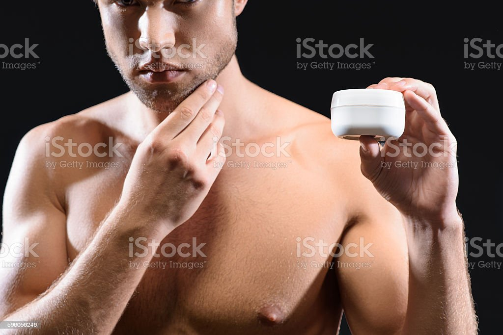 Take care of your skin royalty-free stock photo