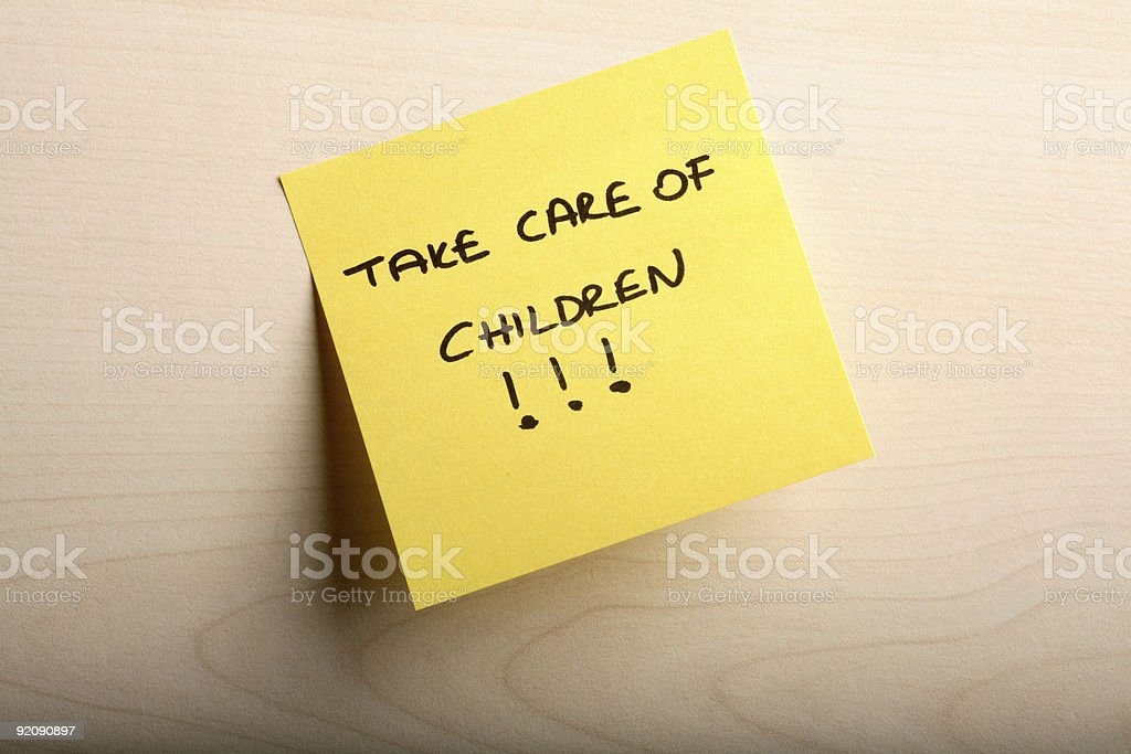 take care royalty-free stock photo