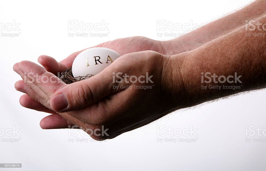 Take good care of your IRA royalty-free stock photo