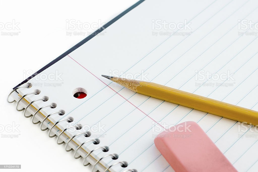Take Good Notes! stock photo