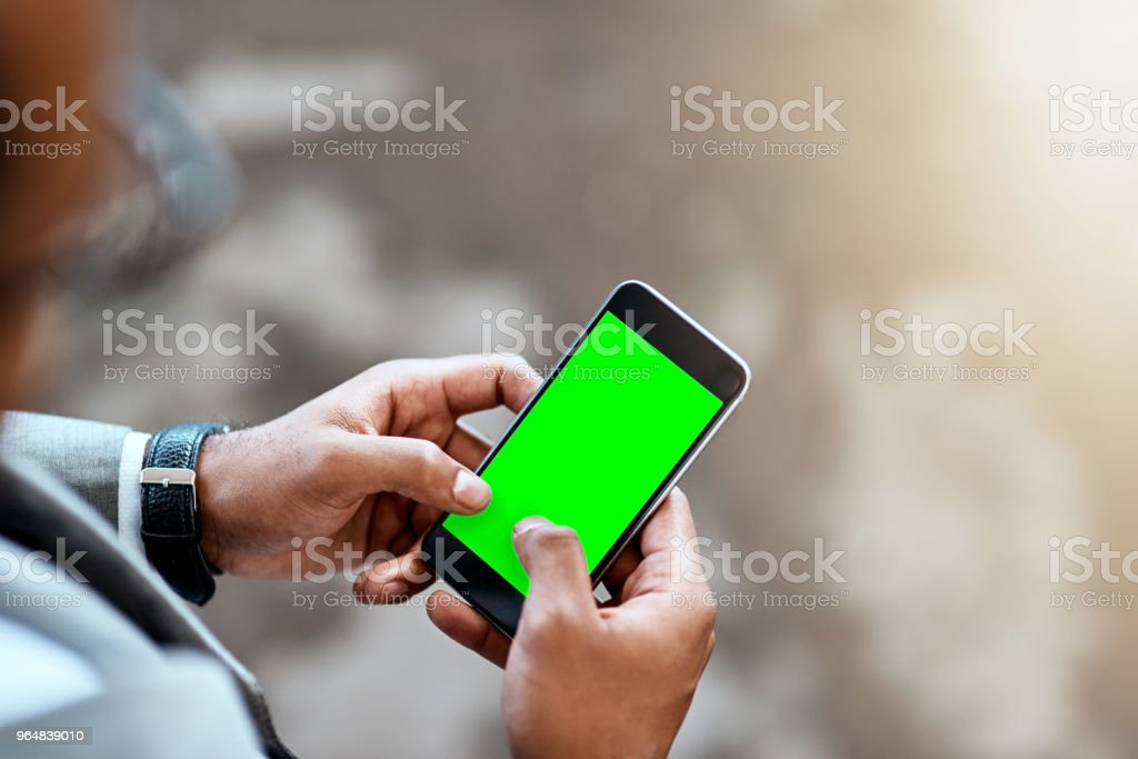 Take my digits and let's connect royalty-free stock photo