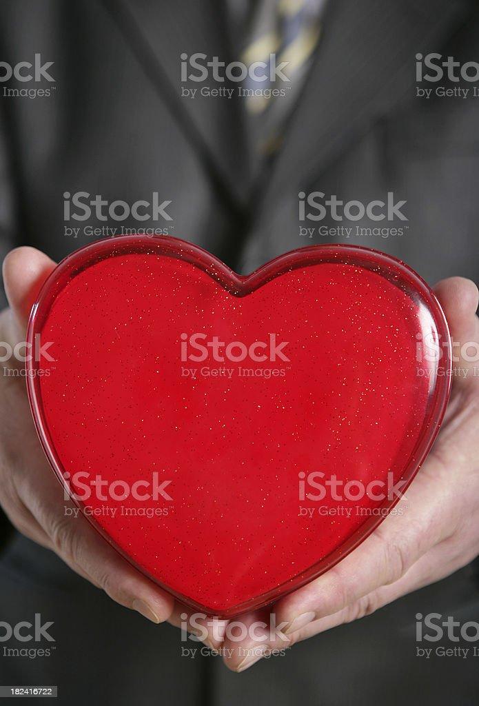 Take My Heart royalty-free stock photo
