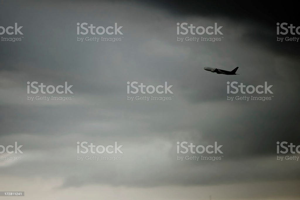 Take Off royalty-free stock photo