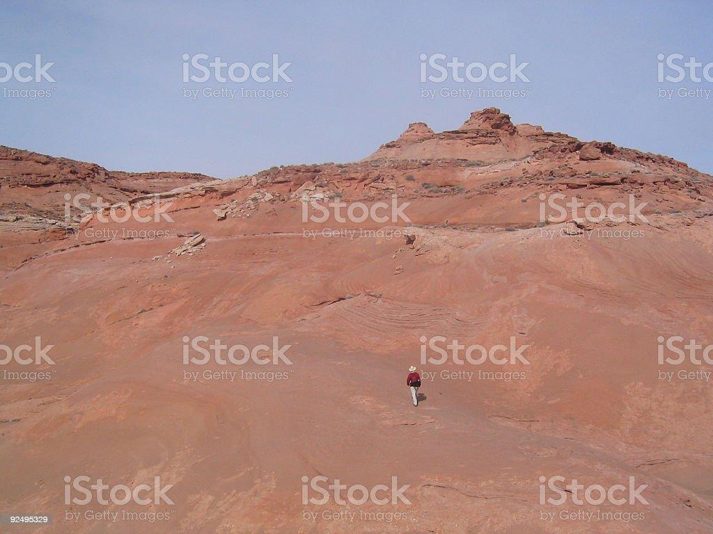 Take on the Mountain royalty-free stock photo