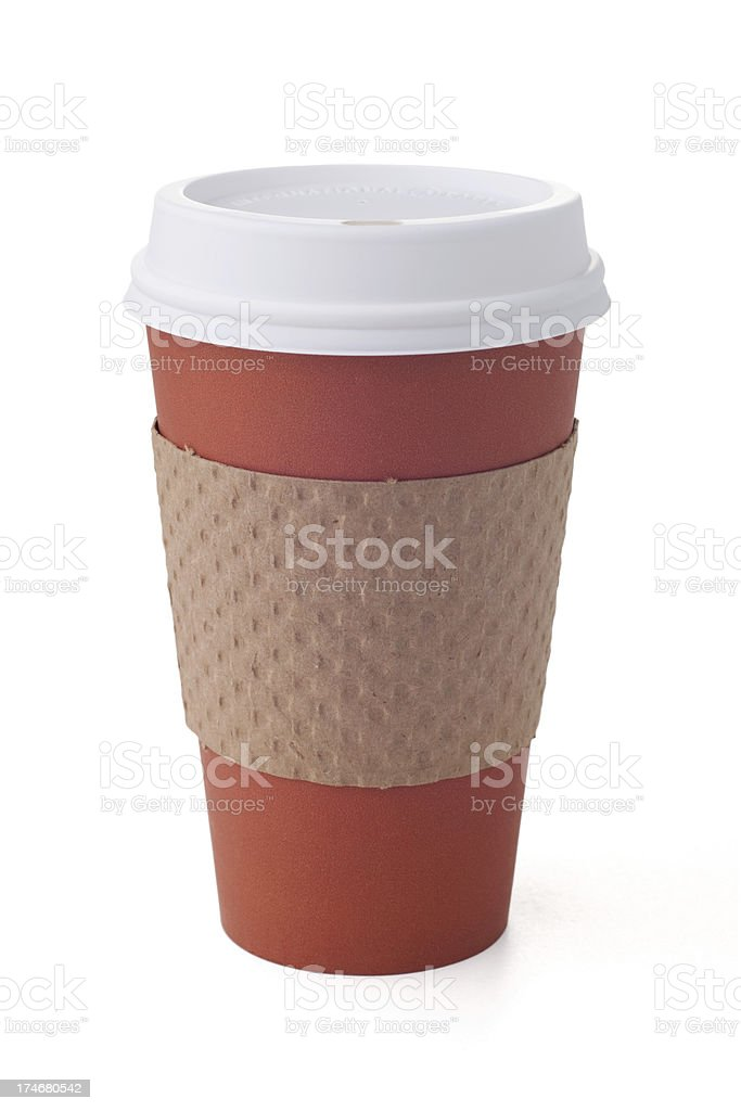 Take Out Coffee Cup royalty-free stock photo