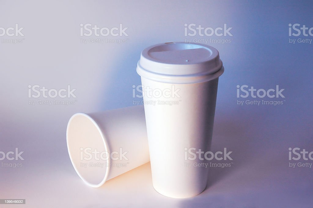 Take Out Coffee Cups royalty-free stock photo