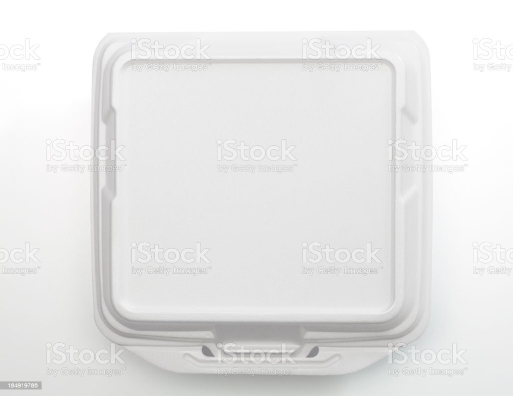 Take Out Container stock photo
