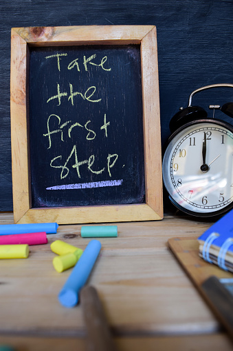 1045293630 istock photo Take the first step. Back to school concept. 1038573198