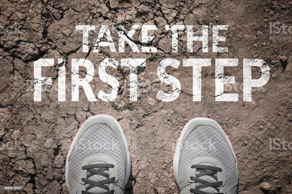 Take the first step - Royalty-free Beginnings Stock Photo