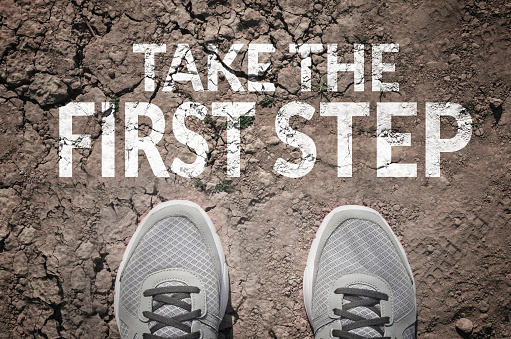Take The First Step Stock Photo - Download Image Now