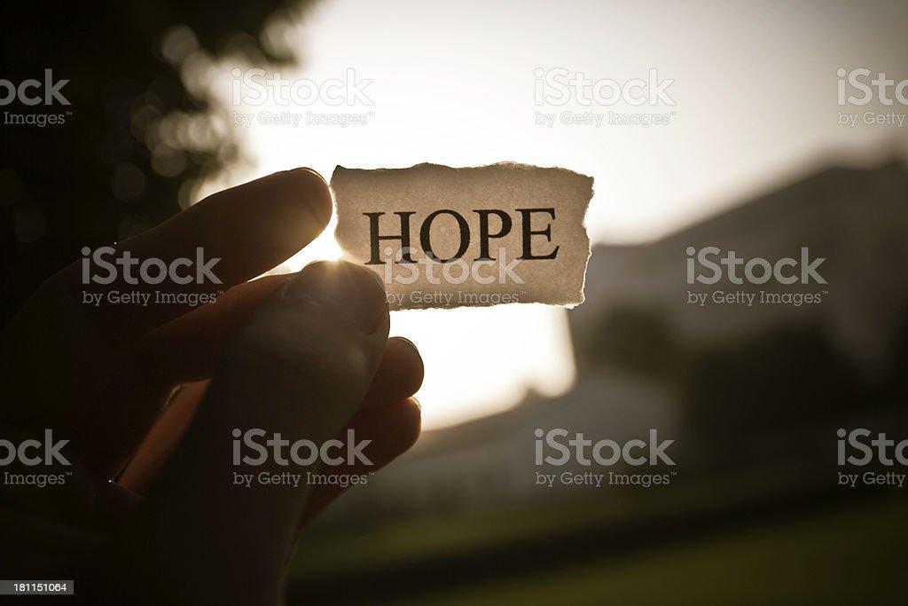 take the hope stock photo