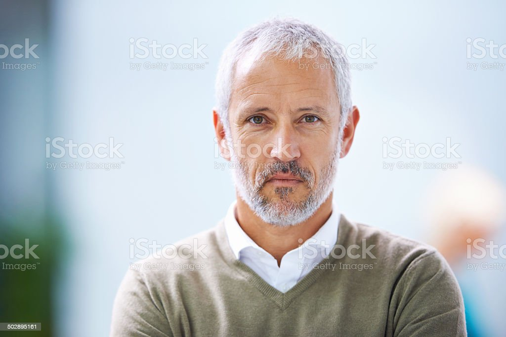 I take this very seriously stock photo