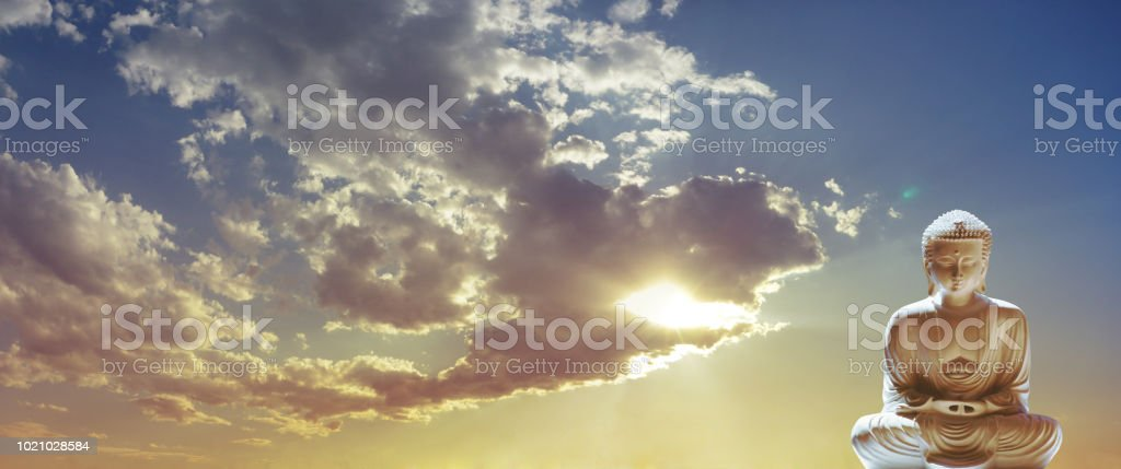 Take time out and meditate Buddhism Concept stock photo