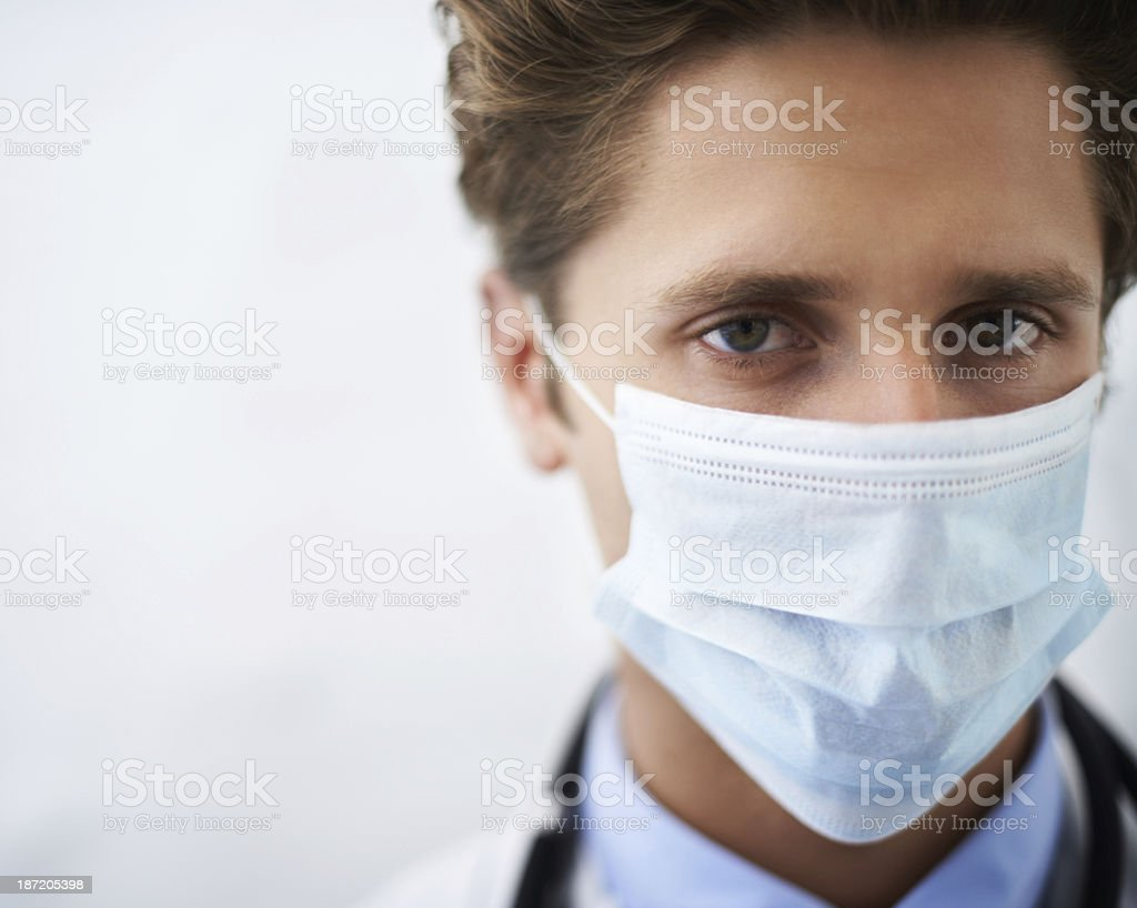 I take your health seriously! royalty-free stock photo