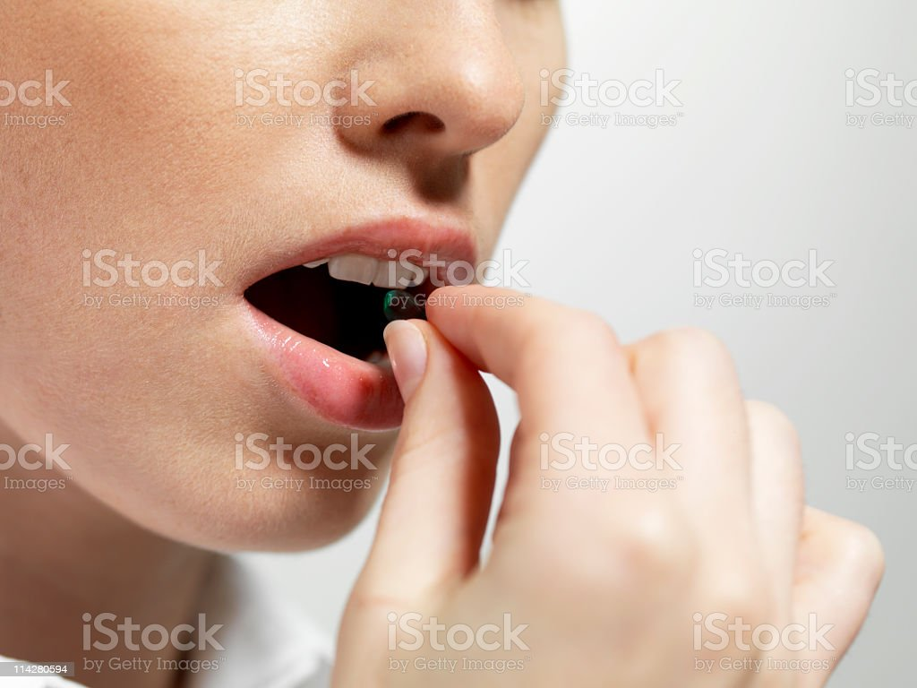 Take your medication stock photo