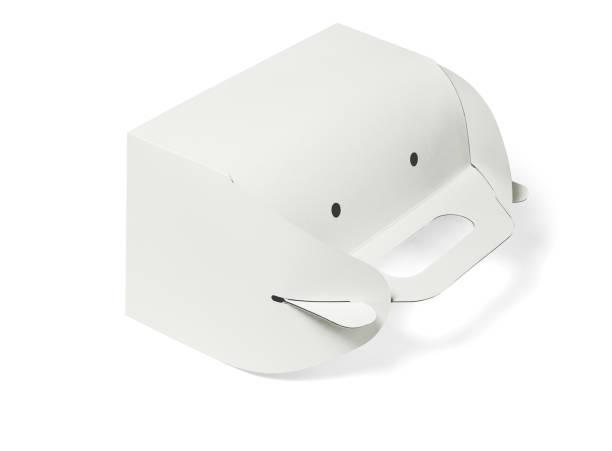 take-away papier tortenschachtel - löcherkuchen stock-fotos und bilder