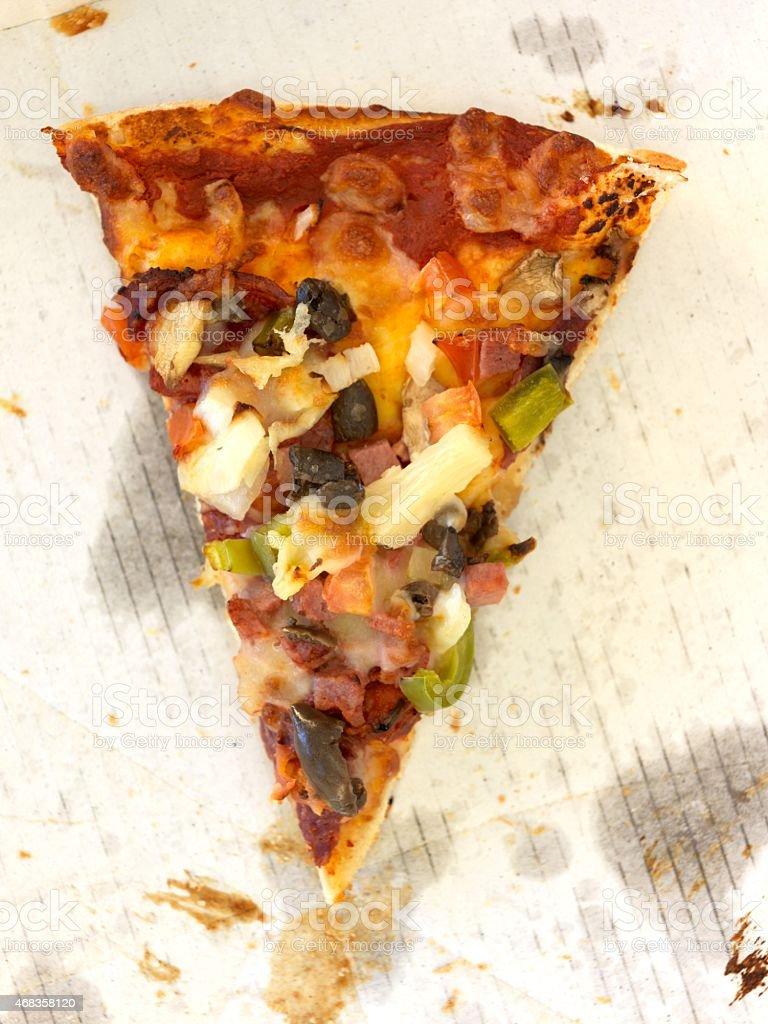 Takeaway Pizza royalty-free stock photo