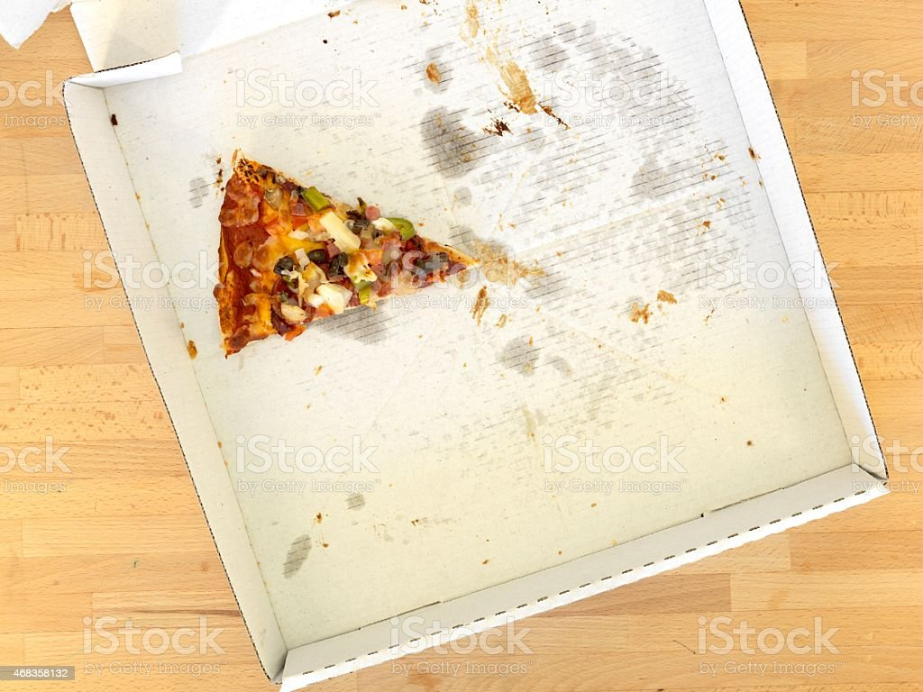 Takeaway Pizza royalty-free stock photo