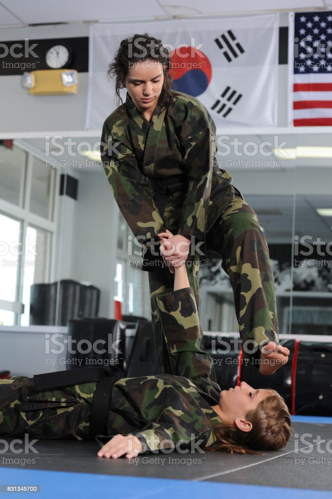 Taken Down and Finish stock photo