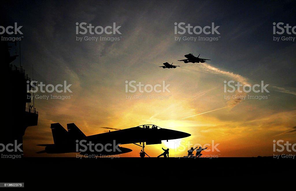 Take-off stock photo