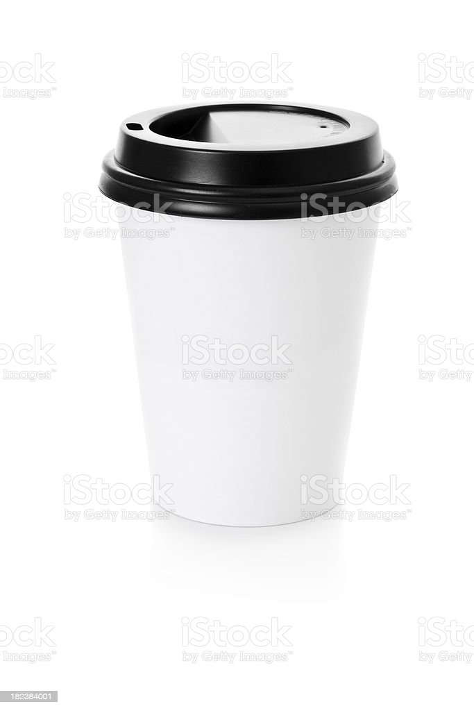 Takeout Coffee Cup royalty-free stock photo
