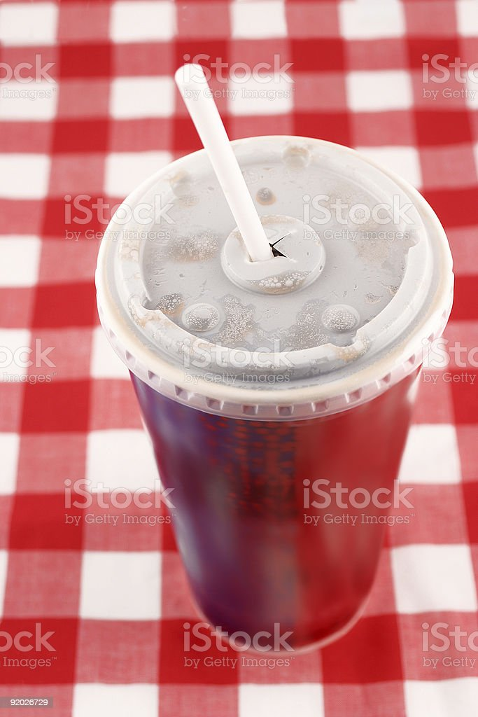 takeout soft drink royalty-free stock photo