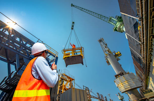 takes a risk at work - construction industry stock pictures, royalty-free photos & images