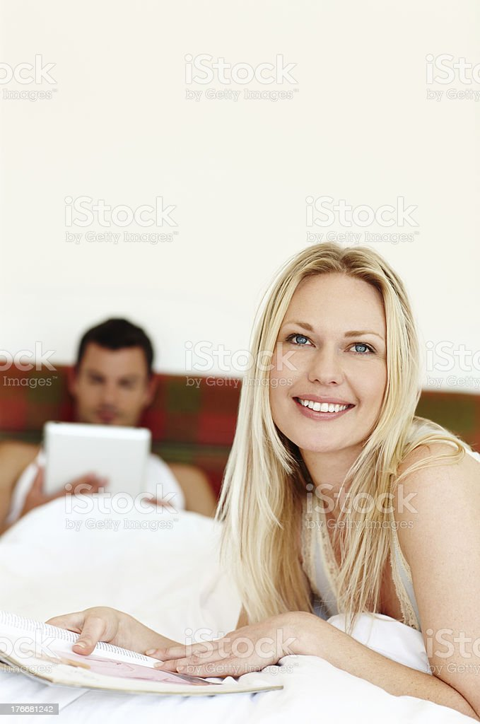 Taking a break from our busy lifestyles royalty-free stock photo