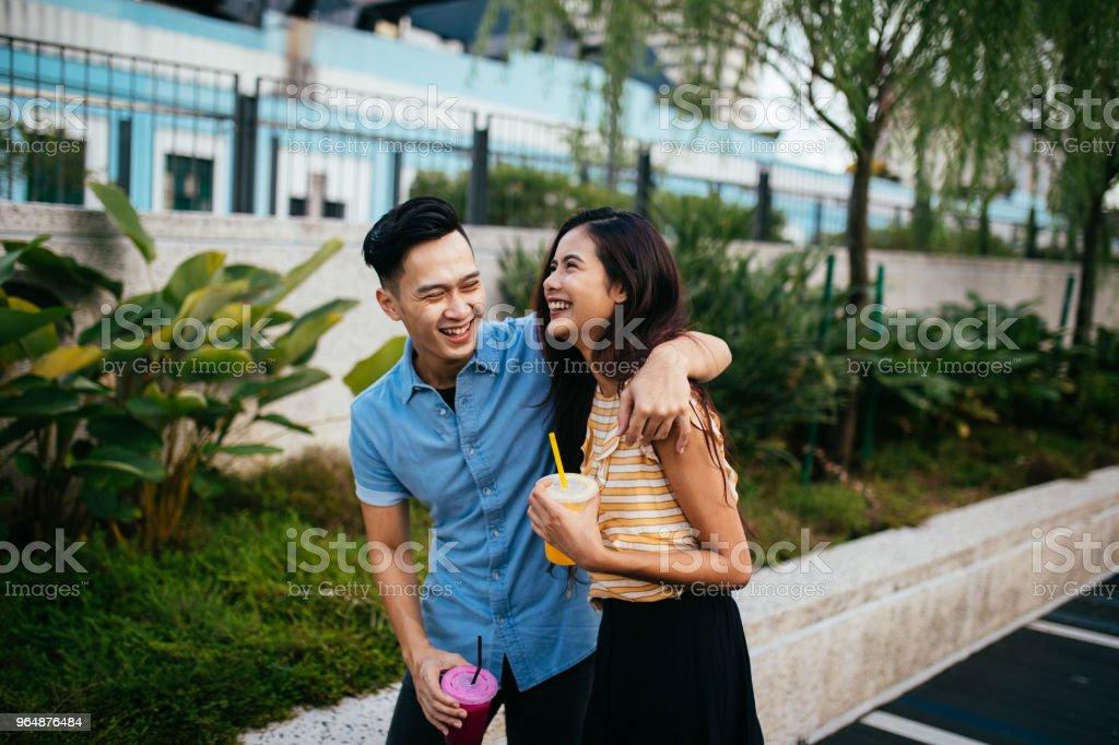 Taking a break in Kuala Lumpur royalty-free stock photo