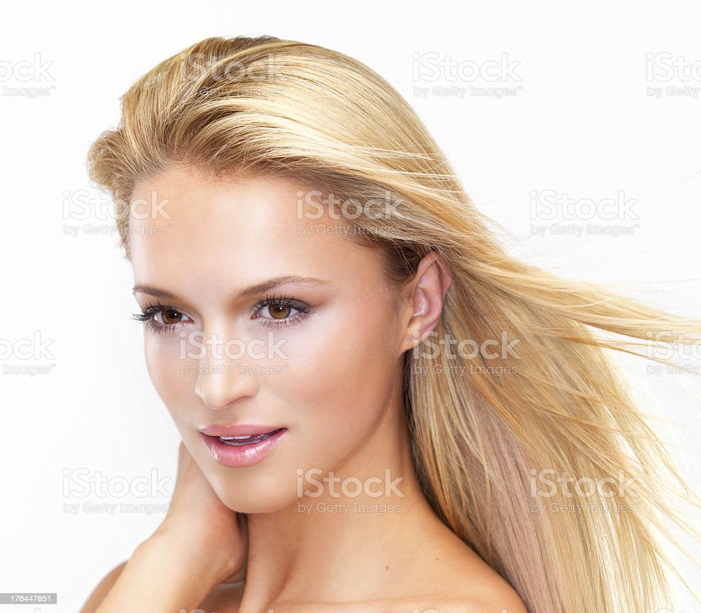 Taking a fresh look at natural beauty royalty-free stock photo
